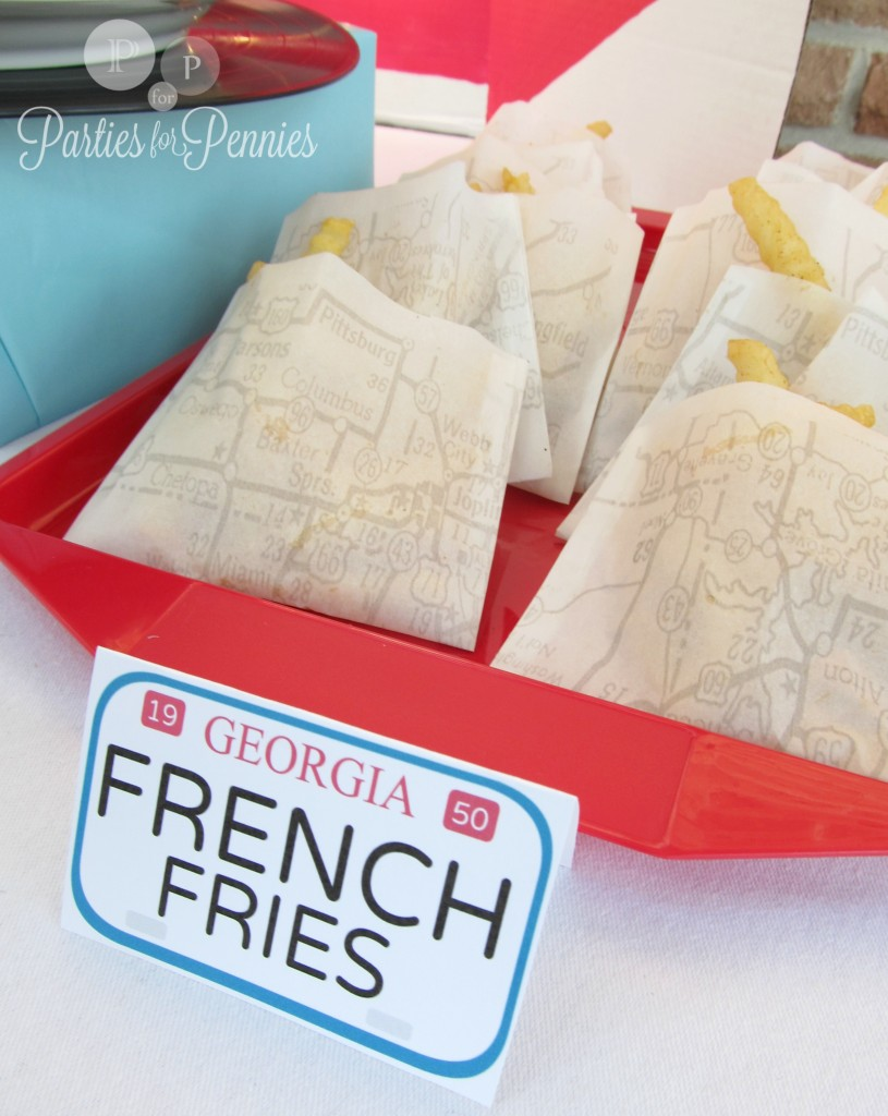 Route 66 French Fry pockets