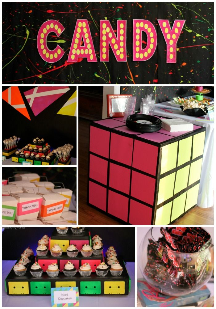 The 80s style surprise party for adults something