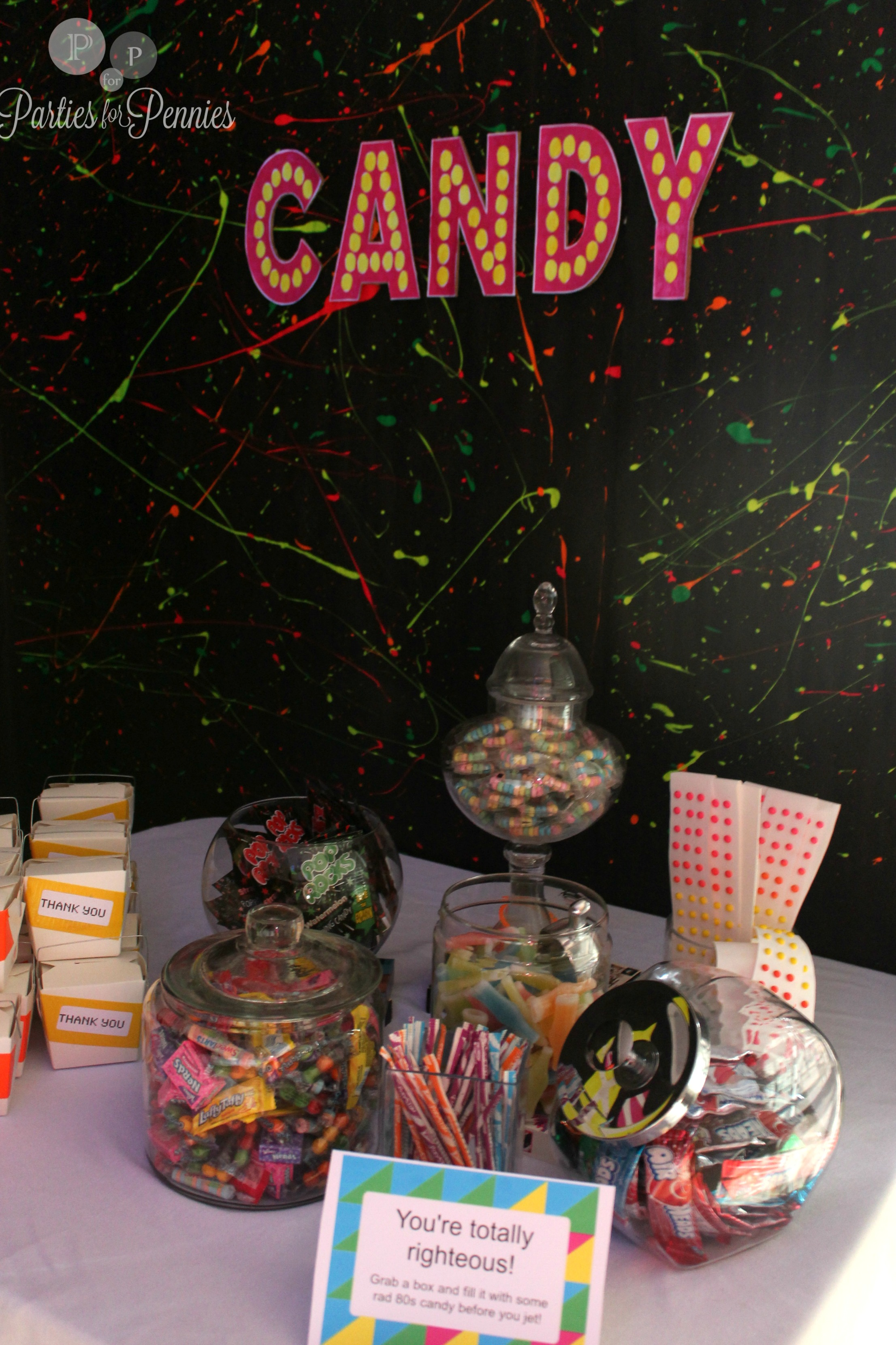 80s party parties for pennies for 80 s party decoration ideas