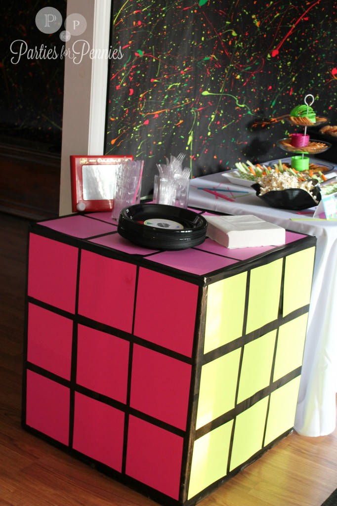 80s party parties for pennies for 80 birthday decoration ideas