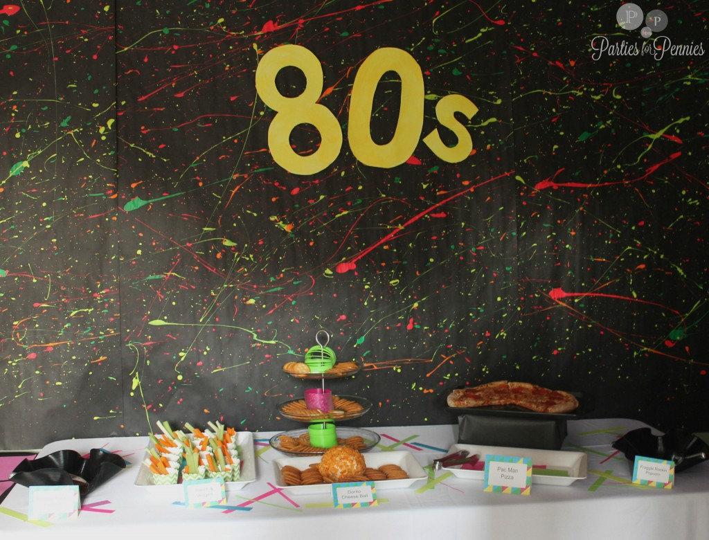 80s Party Parties For Pennies