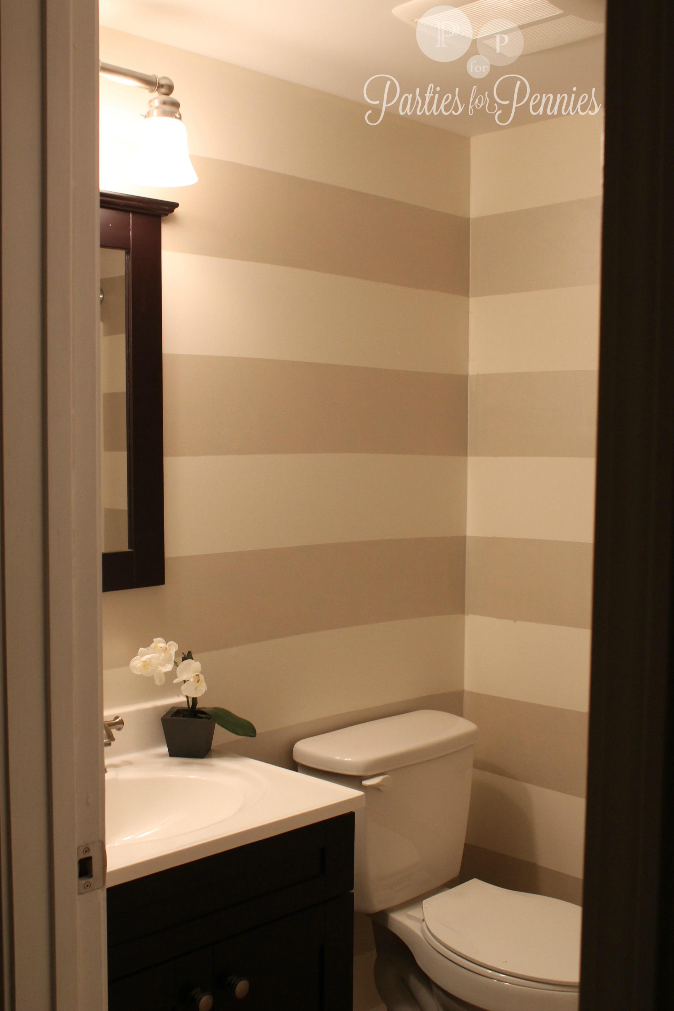 Half bath for the home pinterest half baths bath for Small downstairs bathroom ideas