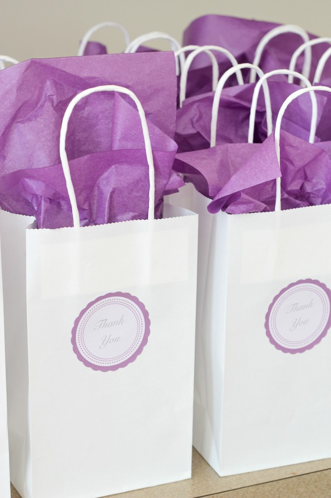 Bridal Show Gift Bag Ideas : ... Bottle of wine? check. Ribbon? check. Tape? check. Gift sign? check