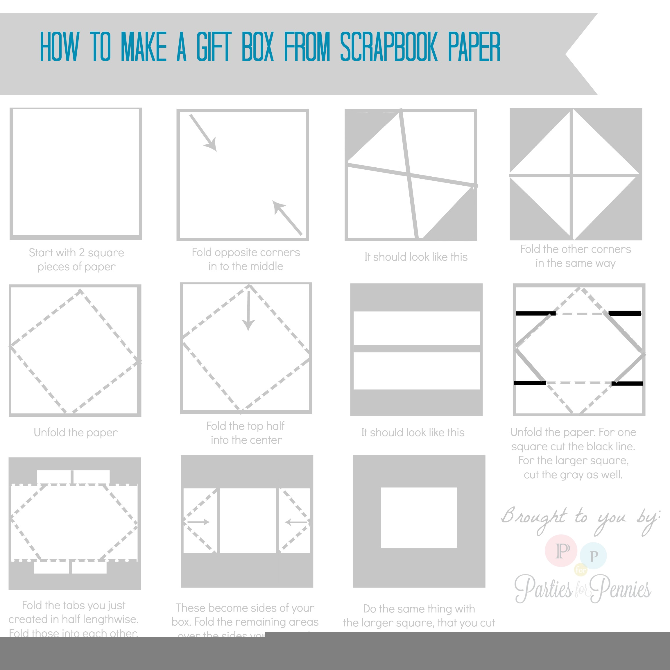 Related Keywords & Suggestions for How To Make An Origami Paper Box