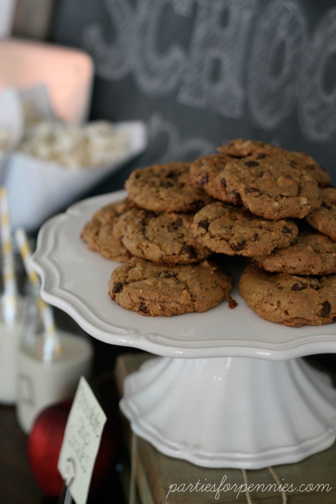 Back to School Party - Cookies by PartiesforPennies.com