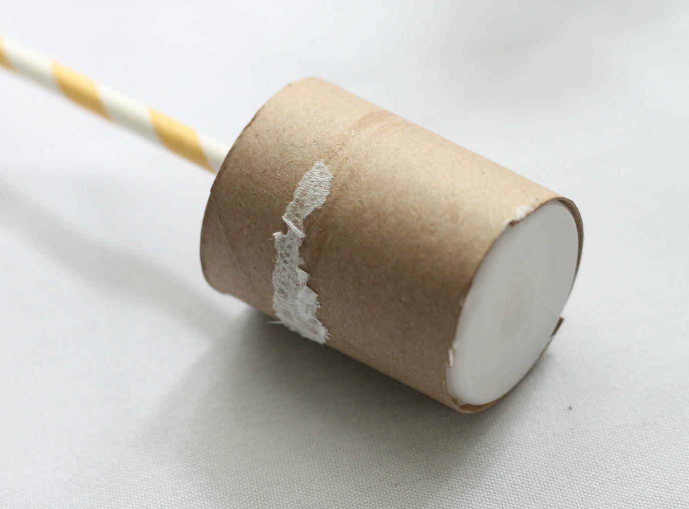 DIY Confetti Popper - stopper