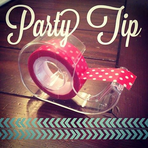 Washi Tape Tip by PartiesforPennies.com