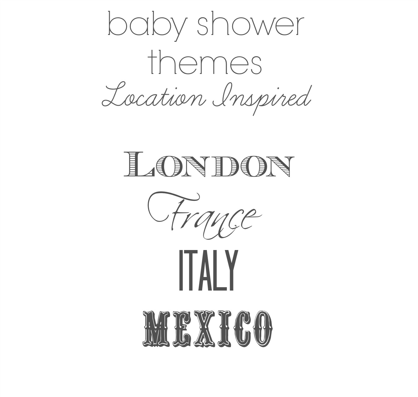 baby shower location ideas baby shower venues baby shower ideas