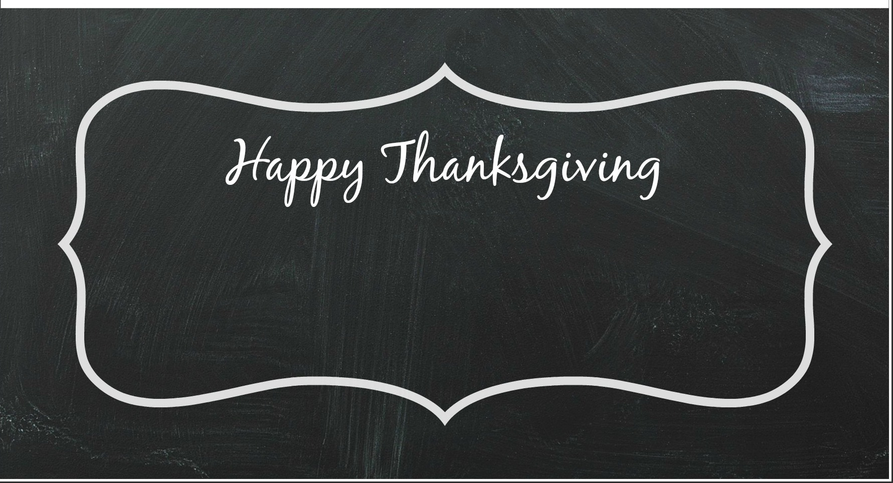Thanksgiving Chalkboard Printable by PartiesforPennies.com