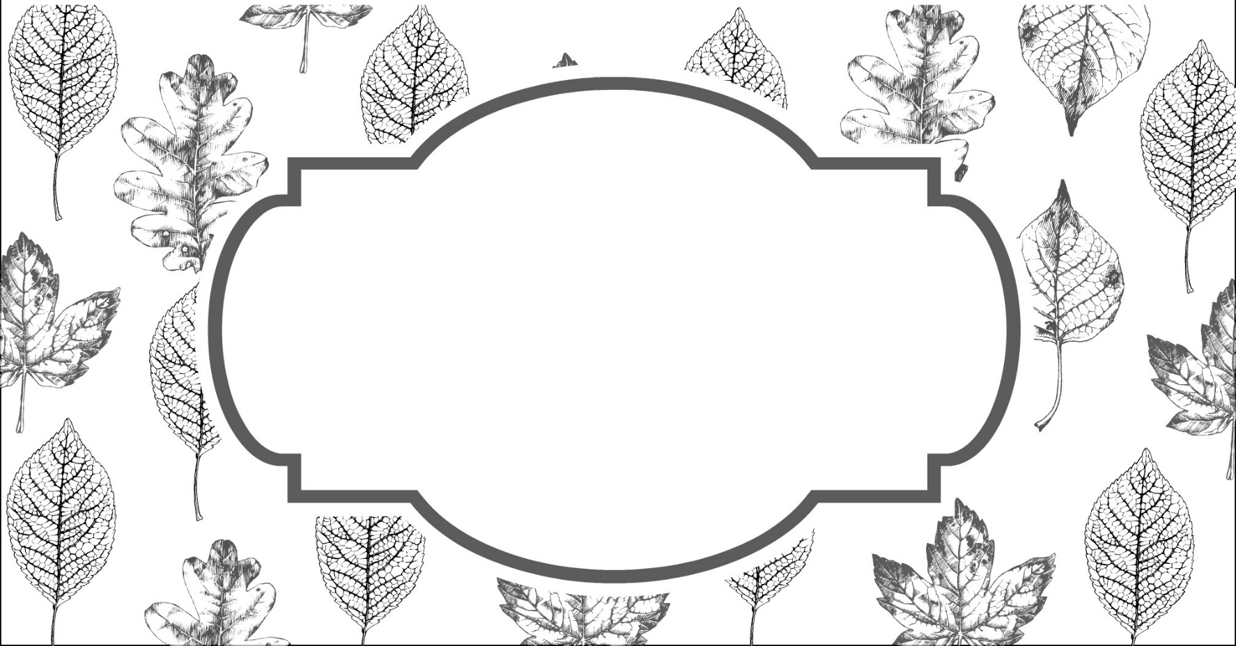 Thanksgiving Leaf Printable by PartiesforPennies.com example