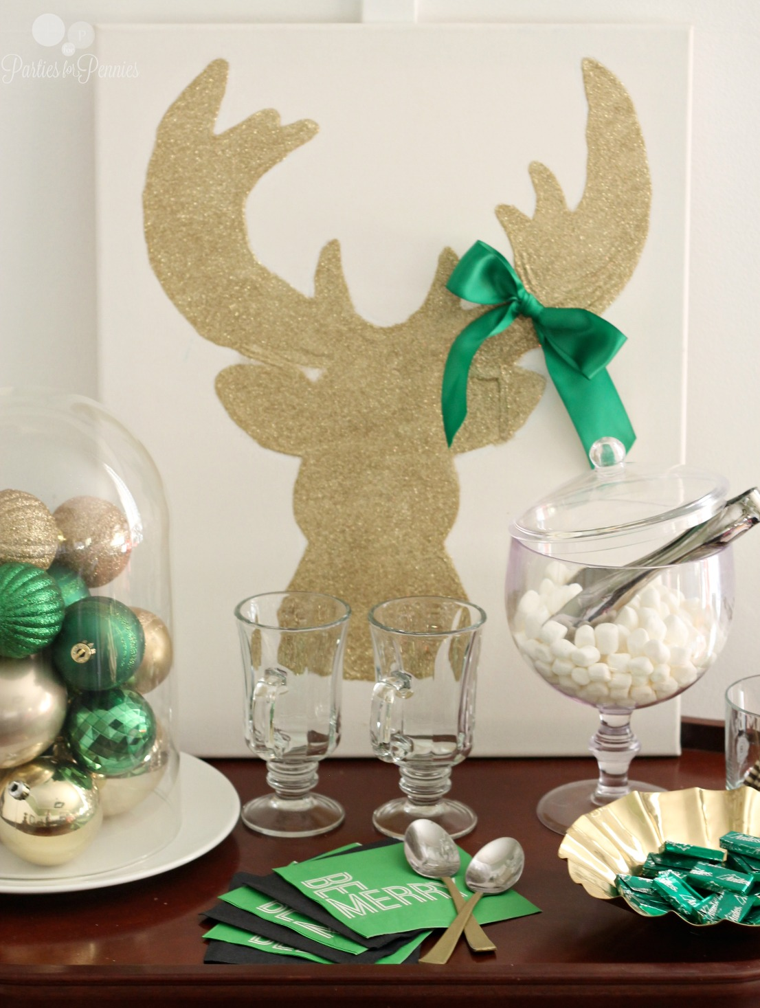 10 Budget Friendly Christmas Entertaining Ideas by PartiesforPennies.com 3