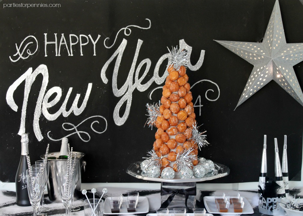New Years Eve Party by PartiesforPennies.com 1