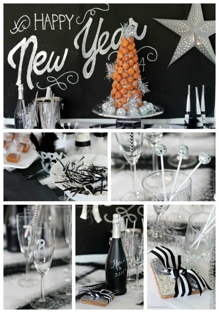 New Years Eve Party by PartiesforPennies.com Collage