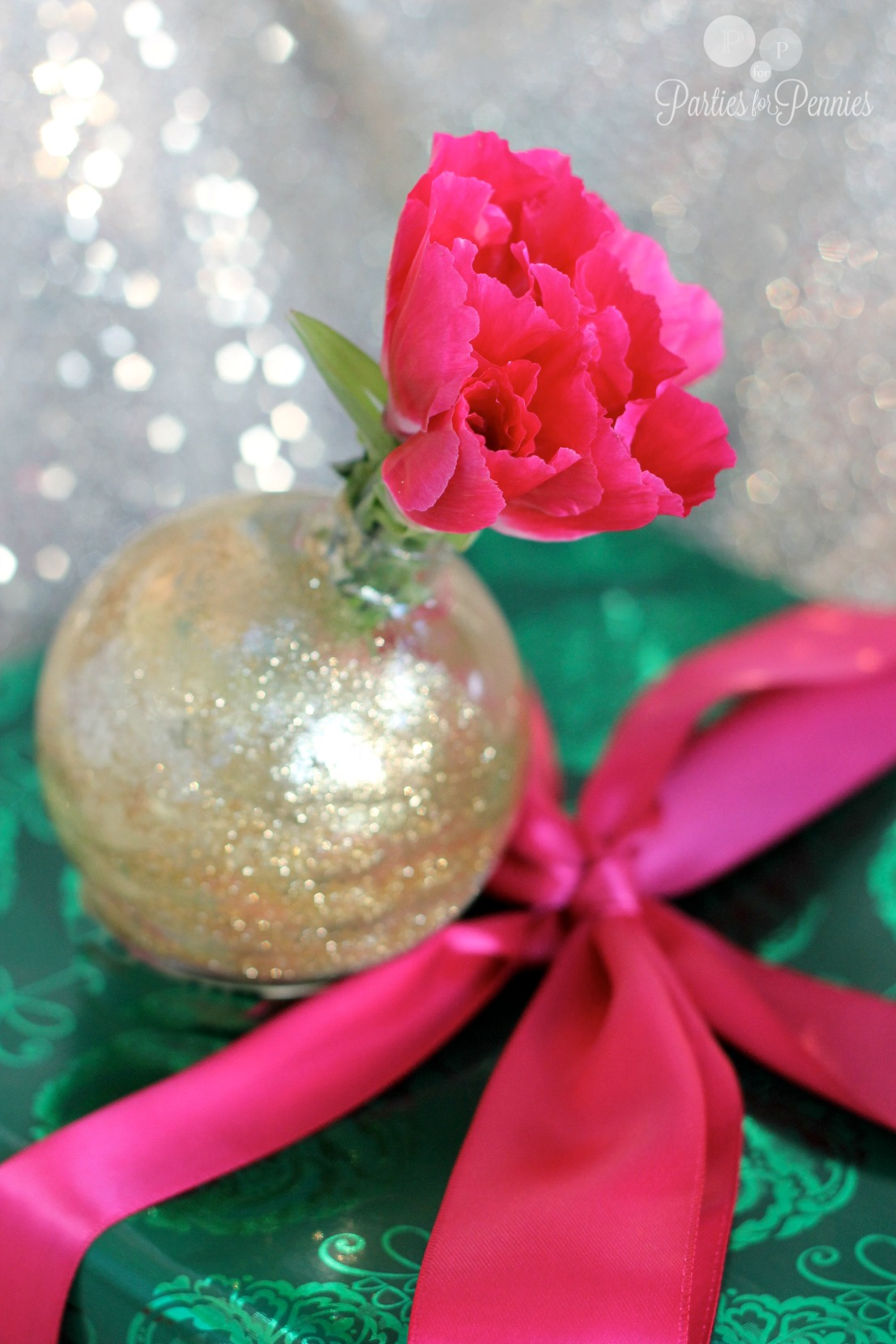 Ornament Vase by PartiesforPennies.com