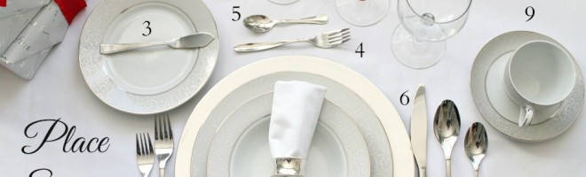 PlaceSetting Guide by PartiesforPennies.com 1