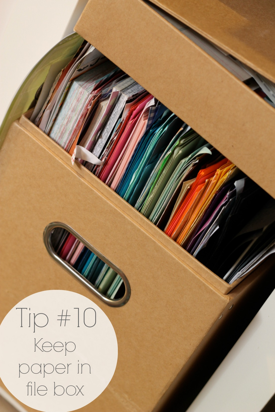 Craft Room Organization - Tip #10