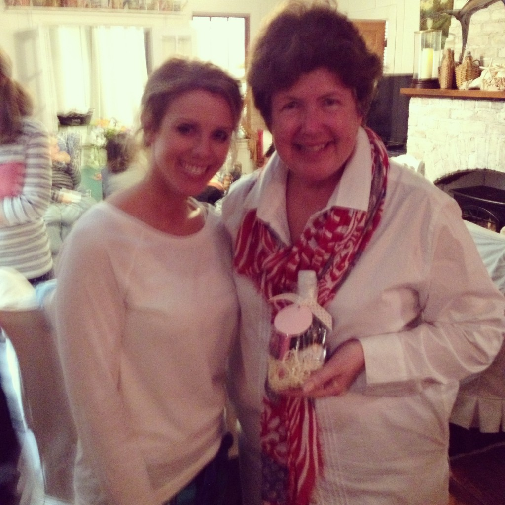 Best selling author, Mary Kay Andrews with Heidi Rew of PartiesforPennies.com