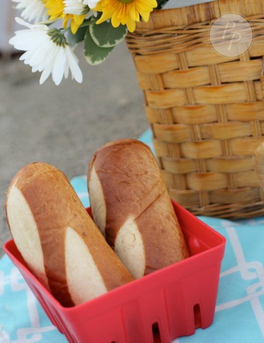 Tybee Picnic - Pretzel Bread
