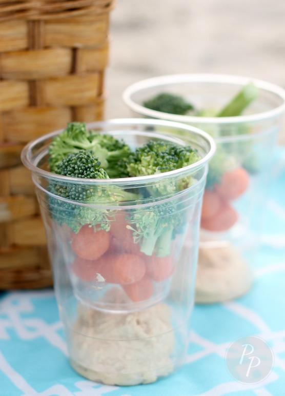 Tybee Picnic - Veggie Cups