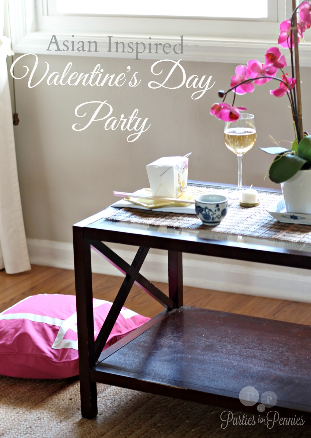 Valentines Day Asian Inspired Party by PartiesforPennies.com Main