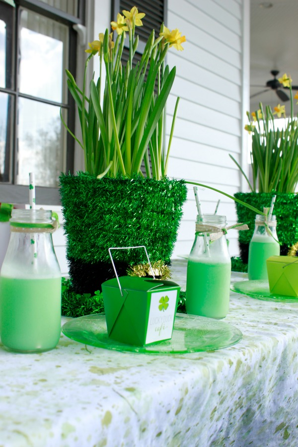 St Patricks Day Party - Lucky Duck Cafe Feature by Project Housewife