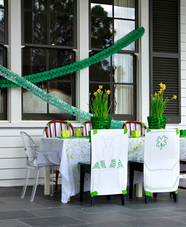 St Patricks Day Party Lucky Duck Party feature by Project Housewife