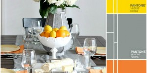 2014 Spring Pantone Color Inspired Tablesetting