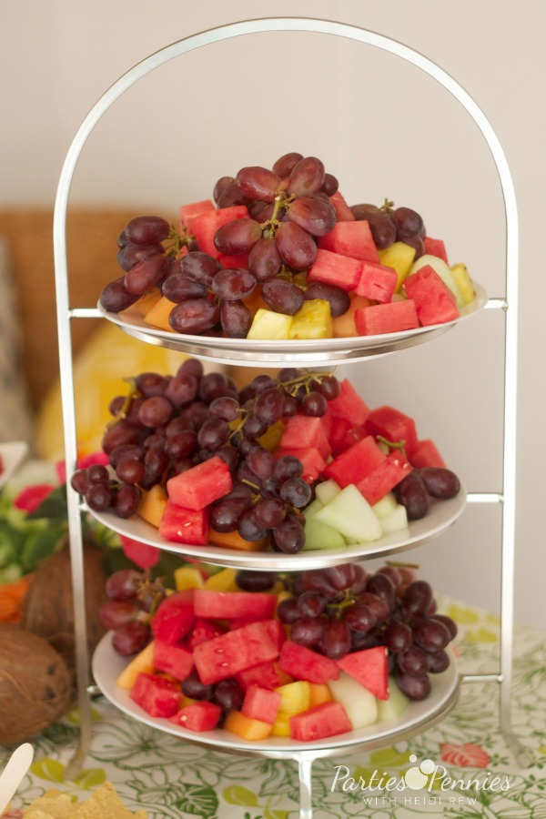 how to serve fruit at a party