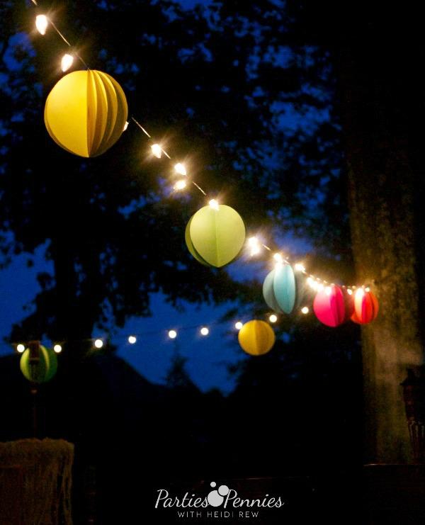 Paper Party Balls | Video Tutorial | PartiesforPennies.com