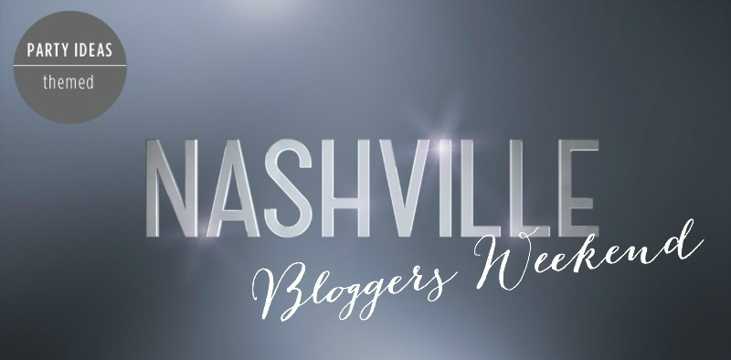 Nashville Bloggers Weekend - Header