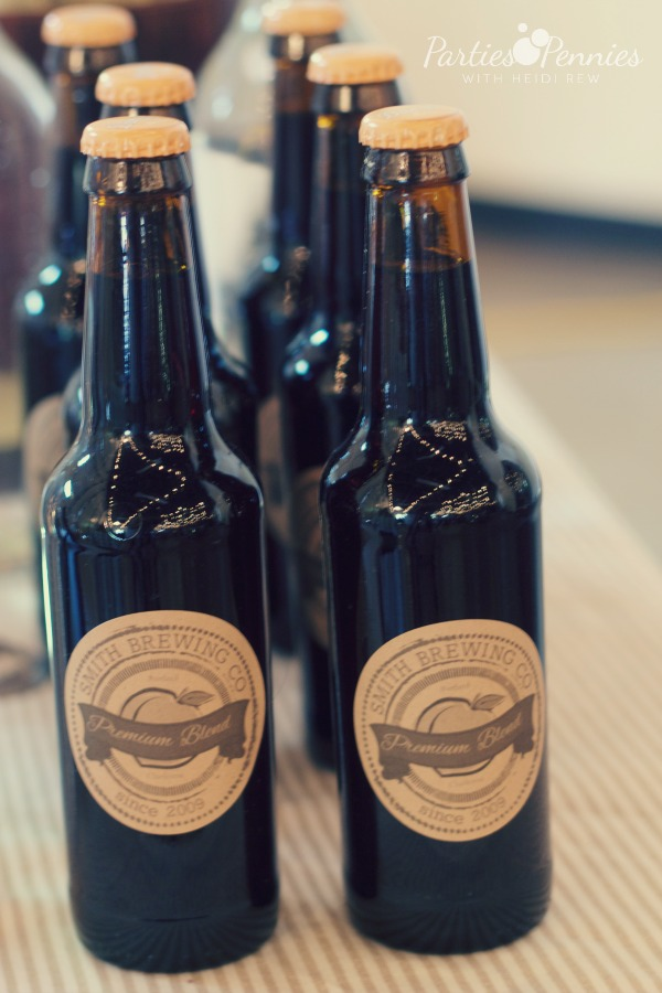 Brewery Baby Shower | PartiesforPennies.com | #babyshower #vintagepreppy #brewery #rootbeer