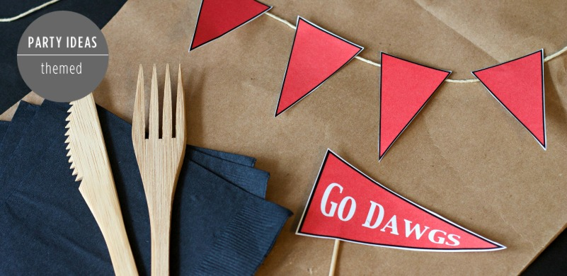 Football Pennant Printables - Feature