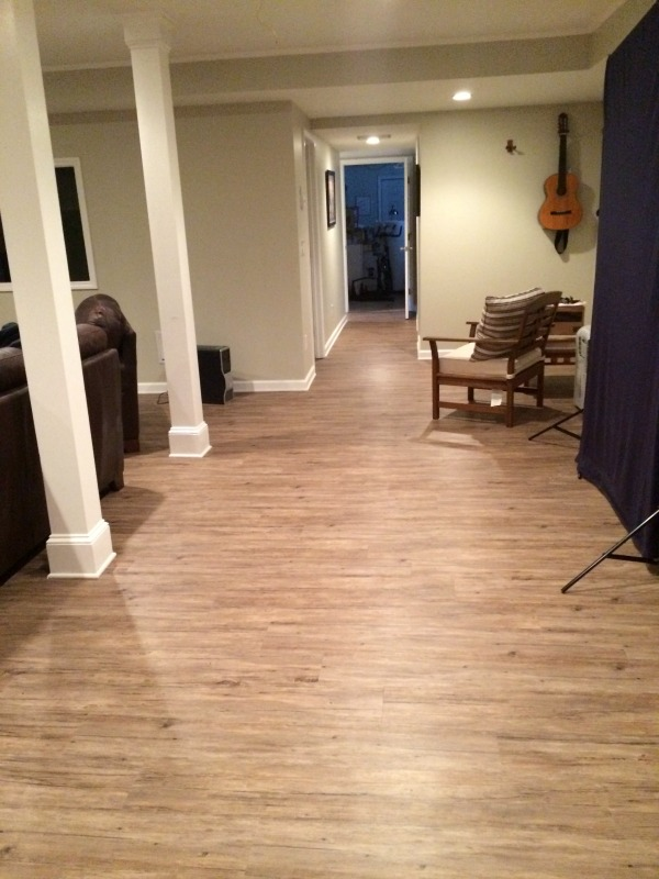 Laminate Before And After Installing New Floors