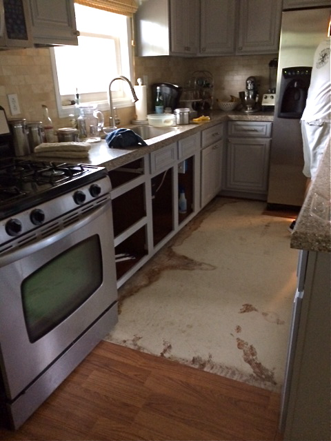 Mohawk Floors Me   Kitchen Floors Ripped Up   PartiesforPennies.com
