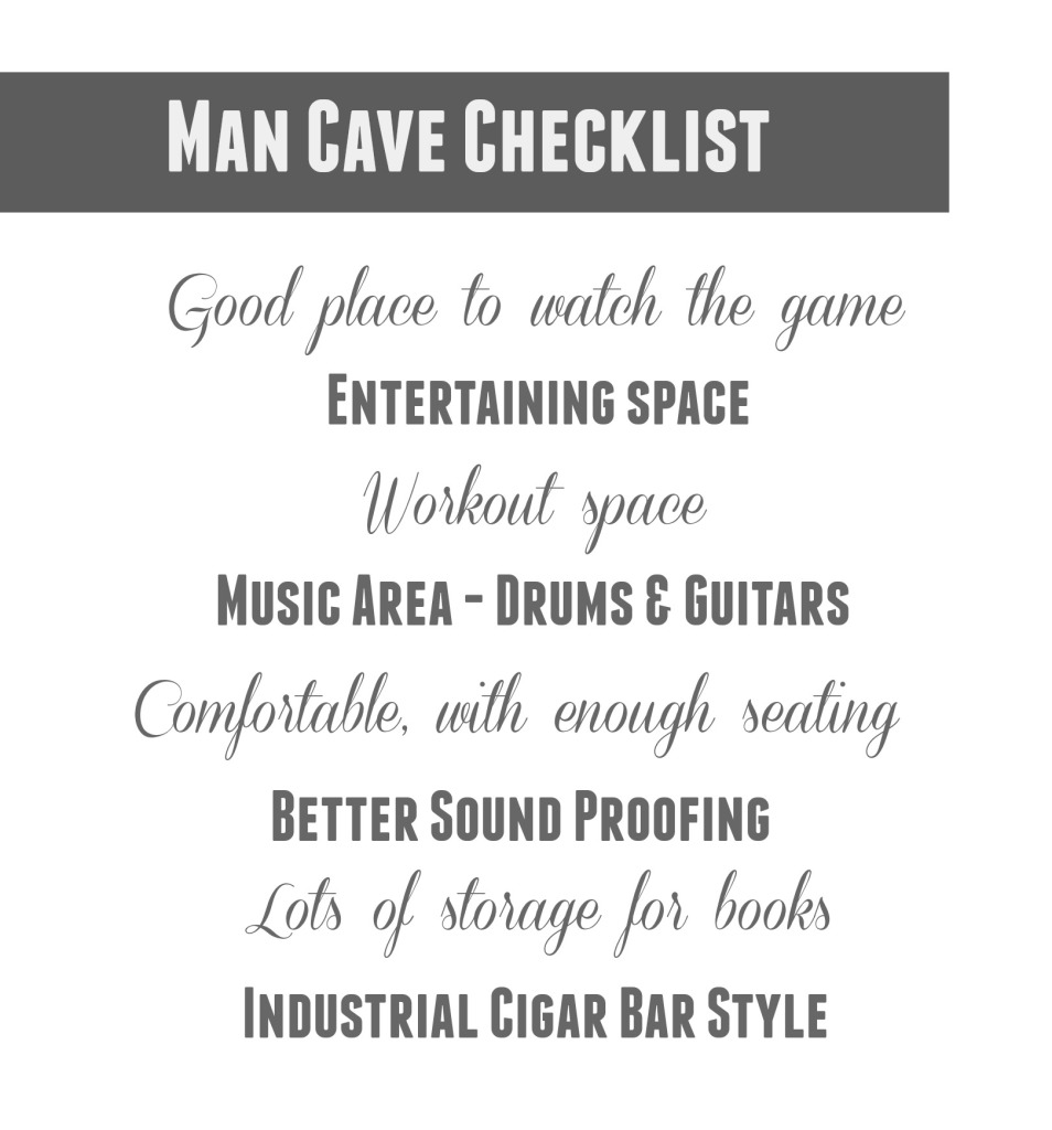 Mohawk Floors Me | Man Cave Checklist | PartiesforPennies.com