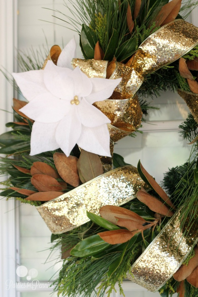 DIY Wreath | PartiesforPennies.com