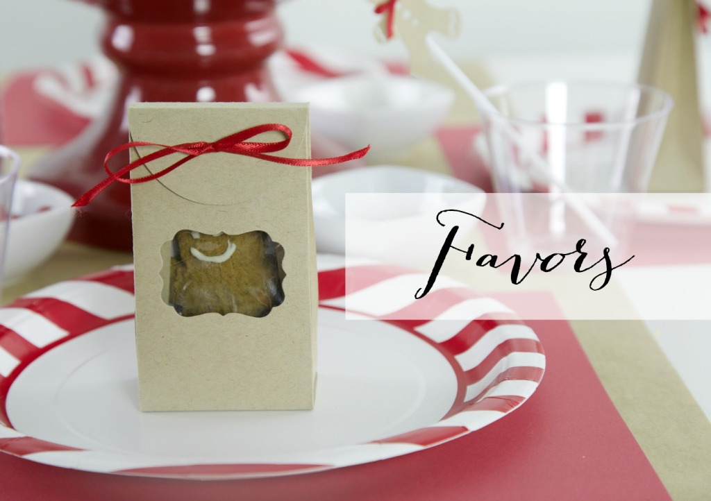 Gingerbread Cookie Party |Favors | PartiesforPennies.com | #Sizzix #Christmas #holiday