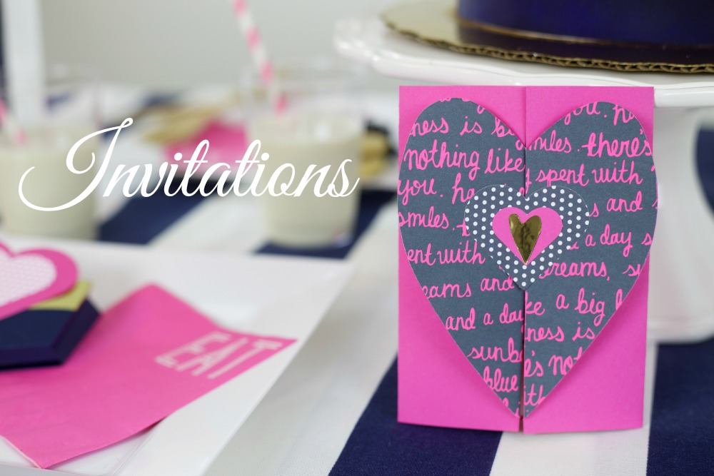 Valentines Day Party | Invitations | PartiesforPennies.com | #valentinesday #invitations #valentine #party