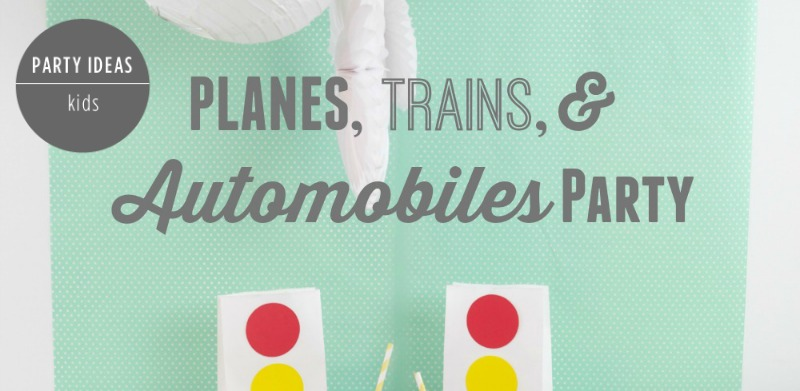 Planes, Trains & Automobile Party