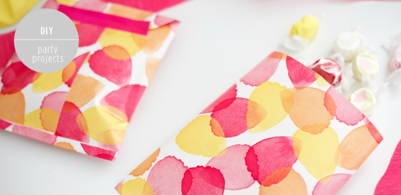 DIY Party Favor Bags Feature
