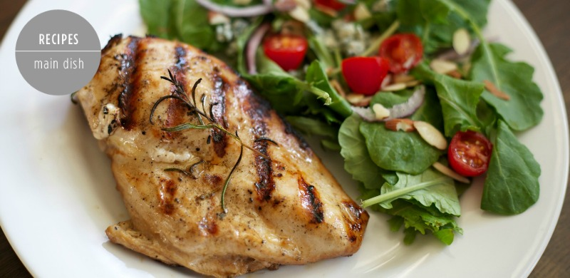 Grilled Chicken Marinade Feature