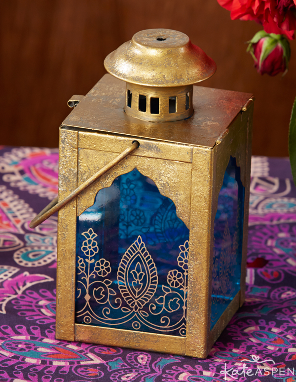 Jewel-Toned Indian Party | Lantern | PartiesforPennies.com