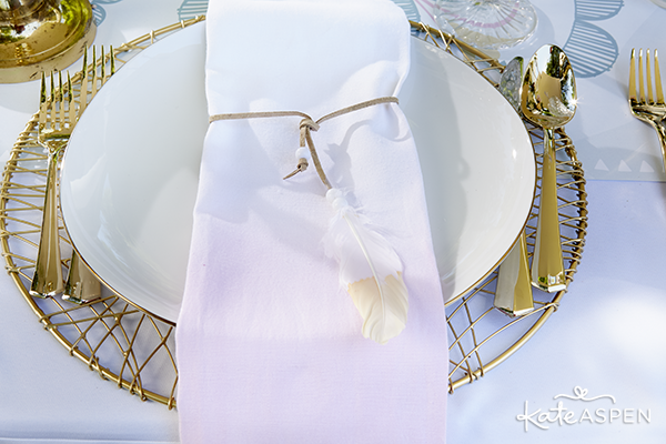Dip-Dyed-Napkin-Boho-Wedding-Kate-Aspen