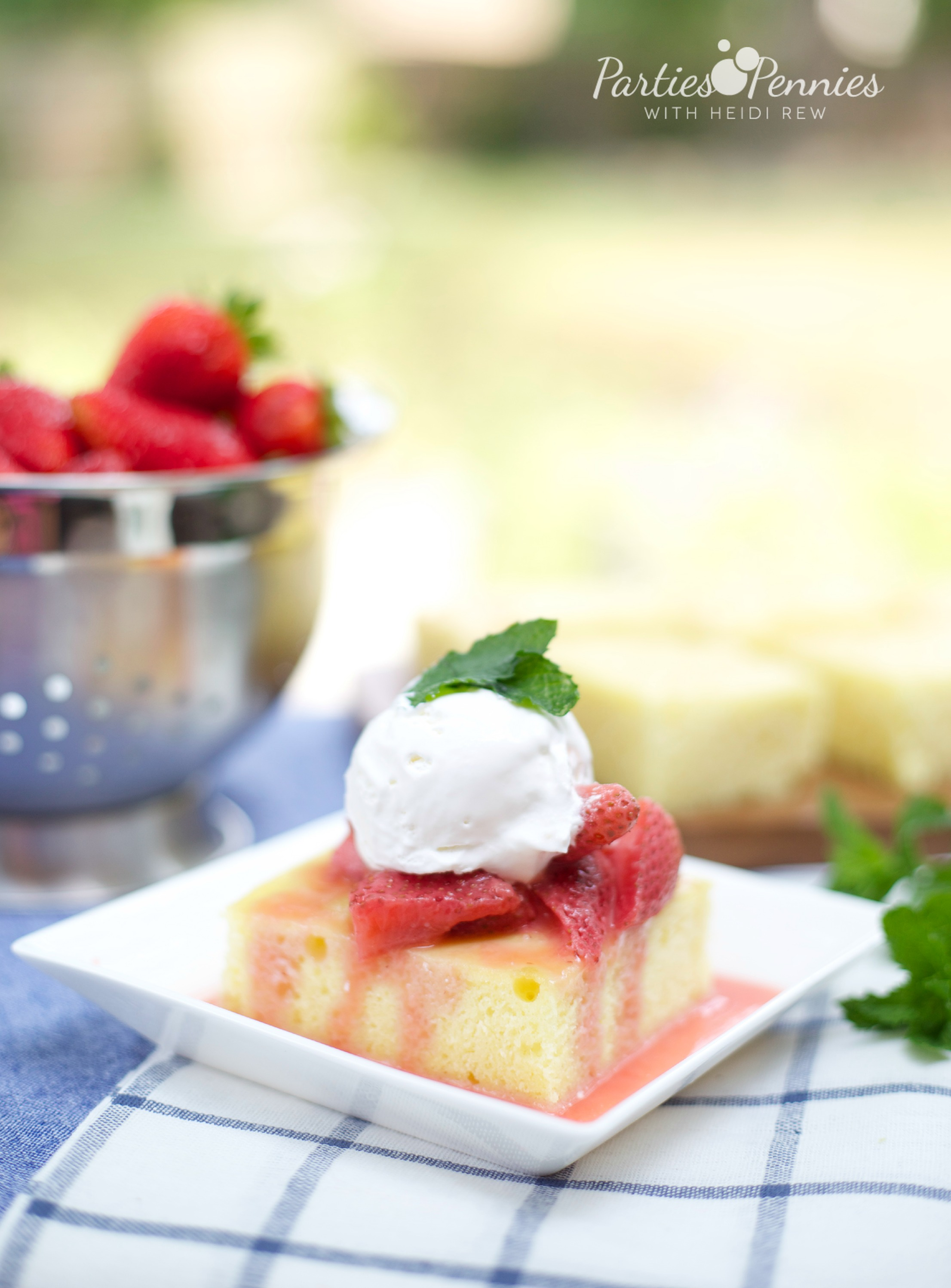 Summer Dessert, Recipe, Gluten Free, Strawberry