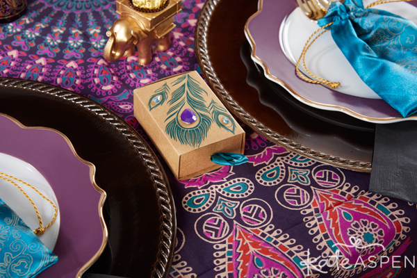 Jewel-Toned Indian Party | Votives | PartiesforPennies.com