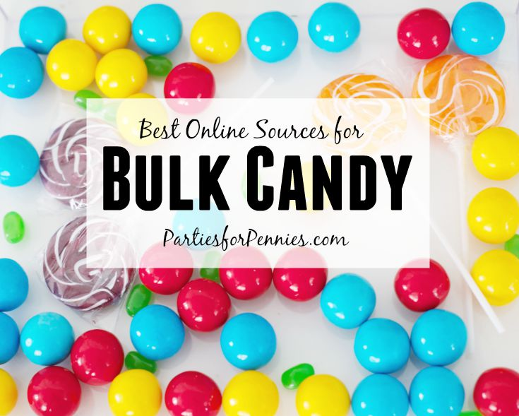 Best Prices for Bulk Candy | PartiesforPennies.com | #candybuffett #wedding #bulkcandy
