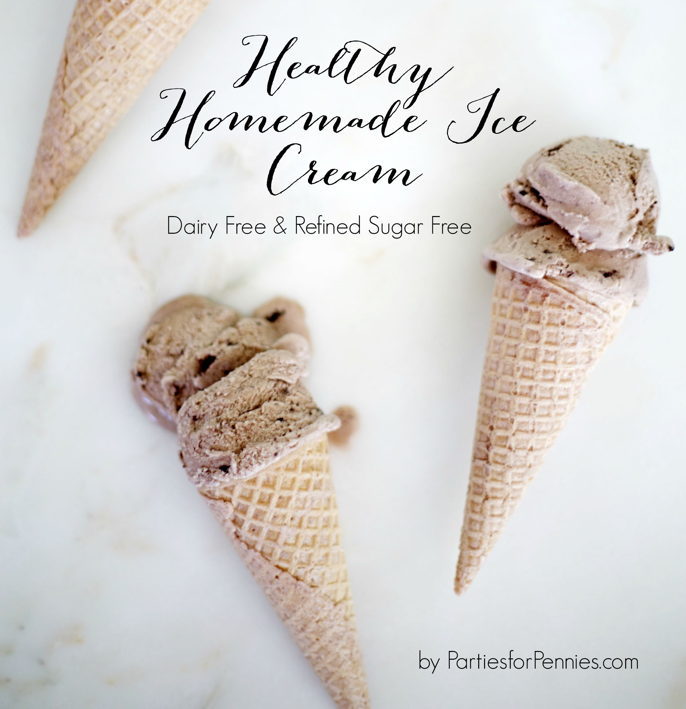 Healthy Homemade Coconut Milk Ice Cream