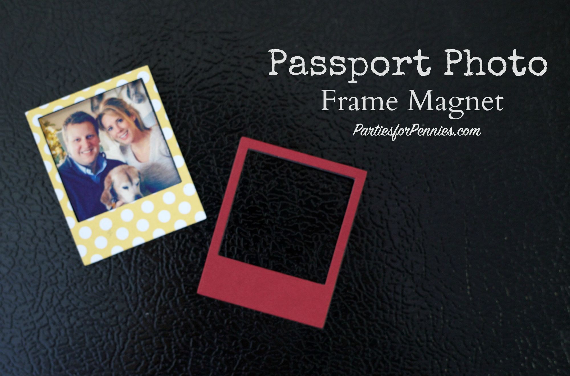 Passport Party | Travel Themed Party |Passport Magnet Party Favor | PartiesforPennies.com | #Sizzix #videotutorial #travel