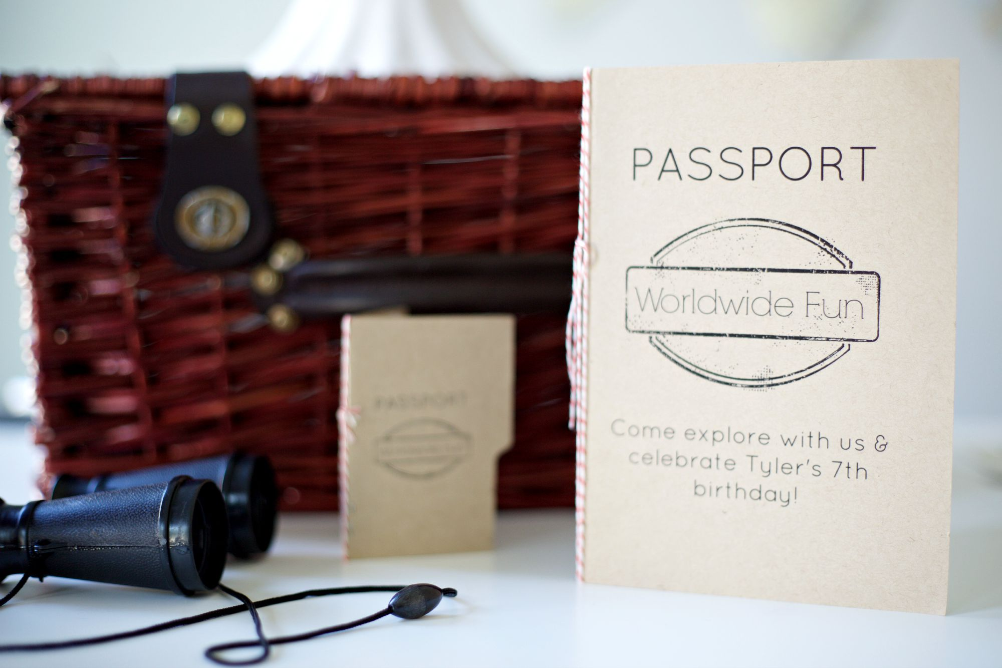 Passport Party | Travel Themed Party |Invitation & Passport Book |  PartiesforPennies.com | #Sizzix #videotutorial #travel