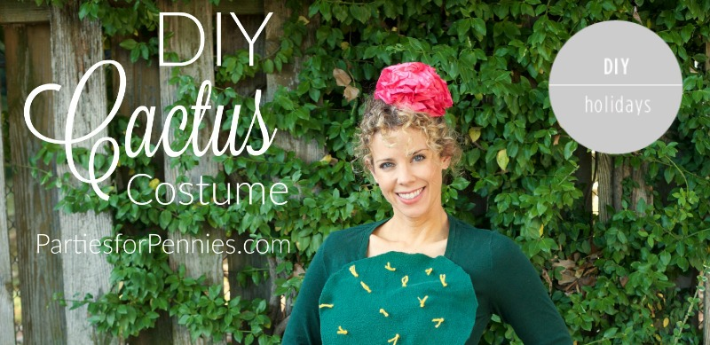DIY Cactus Costume - Feature
